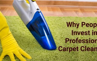 Why People Invest in Professional Carpet Cleaning?